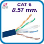 Tramo Cable De Red Utp Rj45 Cat6 Azul 50 Metros 0.57mm Mmu