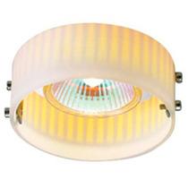 Luminario Decorativo Techo Vidrio Acero Acabado Opalo Illux