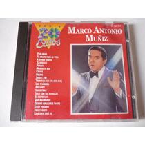 Marco Antonio Muñiz Serie 20 Exitos Cd 1991 Envío Gratis!