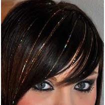 #20 Hilos 50cm Brillo Color Pelo Extensiones Cabello Op4
