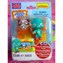 Mega Blocks Set De Moshi Monsters Modelo 3