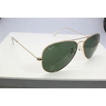 Lentes Ray Ban Aviator Gota Mediana Rb 3025 Large Metal