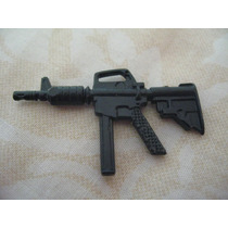Gijoe 1988 Hit & Run V1 Black Assault Rifle