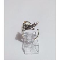 Anillo De Elefante Animal Print En Plata .925 El Relicario