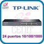 Switch 24 Puertos Rj45 10/100/1000 Gigabit Cat 6 Rack Mmu