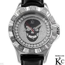 Reloj Techno Com Hombre 12 Diamantes Acero Inoxidable 1 Sp0