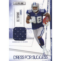 2010 Rs Dfs Rookie Jersey Dez Bryant 54/299 Rb Cowboys