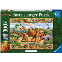 Ravensburger Rompecabezas Tierra De Dinosaurios 100 Pz 10609