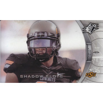 2012 Spx Shadow Slots Justin Blackmon Wr Jaguars