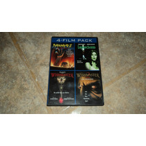 Dvd 4 Film Pack Pumpkinhead2 Leprechaun,wishmaster1y2