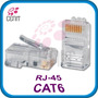 Plug Conector Rj45 Cable Red Utp Cat6 100 Pz Cat 6 Gigabit