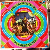 Rock Inter, The Rolling Stones, Sello Rojo, México, Lp 12´,