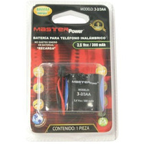 Bateria Para Telefono Inalambrico Master 3-2/3aa