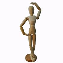 Modelo Maniquí Articulado 30cm Marca Rodin