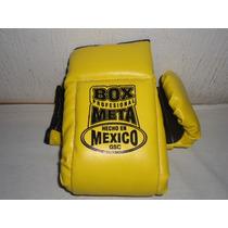 Guantaletas Para Box En Vinil Marca Meta Garantia De Calidad