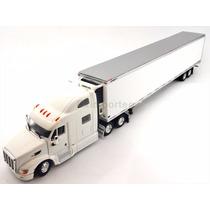 1:53 Tracto Camion Peterbilt 587 Tonkin Thermo Blanco Liso