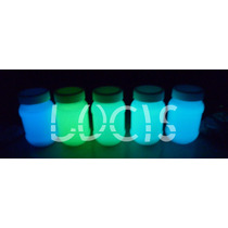 Pintura Fosforescente Luminiscente Neon Glow Permanente