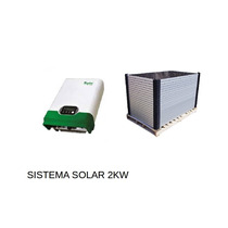 Planta Solar 2kw Domestica Interconectada A Cfe - 10kwh Dia