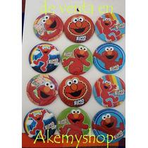 Elmo Botones Articulos De Fiesta