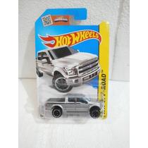 Hot Wheels Camioneta 15 Ford F-150 Gris 119/250 2015