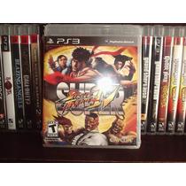 Juego Ps3 Super Street Fighter Iv Nuevo Completo Mdn