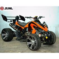 Atv Cuatrimoto Sunl 250cc Super Deportiva F1 Estandar Rin 14
