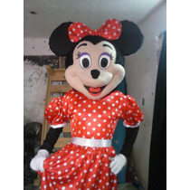 Botarga Mimi Minnie Mouse Mickey Disfraz