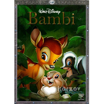 Bambi, Edicion Especial, El Clasico De Walt Disney, Dvd