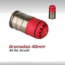 Granada 40mm Airsoft Militar Tactico Rifle Humo Gas Gotcha