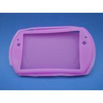 Silicon Skin Case Para Sony Psp Go Color Lila