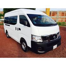 Nissan Urvan 4p Amplia L4/2.5 Man 15/pas 2014