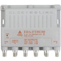 Electroline Eda-ft08300 8 Port Tv Amplificador De Señal / Am