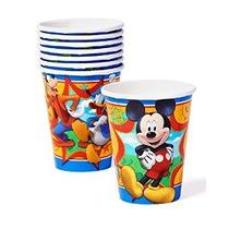 Mickey Mouse Clubhouse 9 Oz Papel Tazas Del Partido Pack De