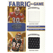 2007 Certified Fotg 2x Jersey Jerry Rice Chad Johnson 69/100