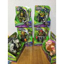 Tortugas Ninja Mutantes Out Of The Shadows Coleccion De 6 Pz
