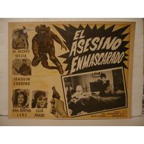 Lilia Prado, El Asesino Enmascarado , Cartel De Cine