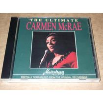 Carmen Mcrae The Ultimate Importado Cd