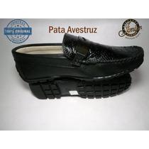 Zapato De Guante Junior Cowboy Pata De Avestruz Original