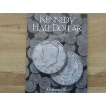 Album Coleccionador De Monedas Half Dolar Kennedy 1985 -1999