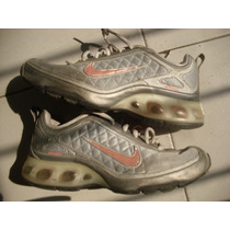 Limipia Closet Tenis Marca Nike Air Max Color Gris Talla 25