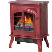 Calentador Estufa Eléctrica 17.5 Rojo Brillante
