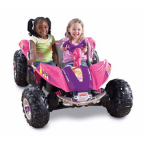 Carro Niña Power Wheels Barbie Dune Racer