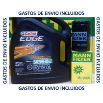 Cambio Aceite Sintetico Castrol Vw Jetta 2.0,jetta 1.8 Turbo