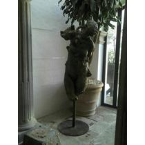 Javier Marin Escultura En Bronce Firmada Catalogada 200x90cm
