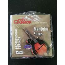 Juego De Cuerdas Para Mandolina, Alice