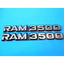 Emblemas Dodge Ram 3500 Camioneta
