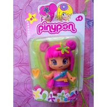 Pinypon Munequita Japonesita Pelo Rosa Modelo 20