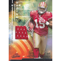 2009 Absolute Sg Rookie Jersey Michael Crabtree /250 49ers