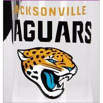 Botella Tapa Y Base Aluminio N F L Jaguares De Jacksonville