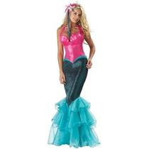Disfraz De Sirena Para Damas, Envio Gratis